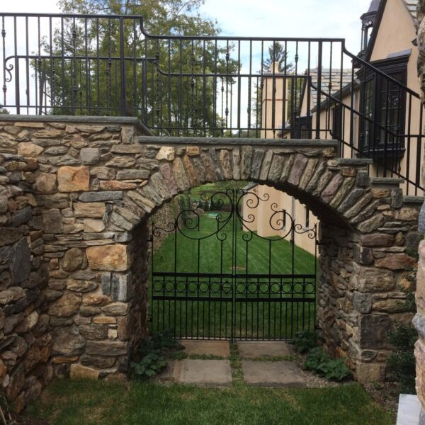 Exterior Railings & Gate