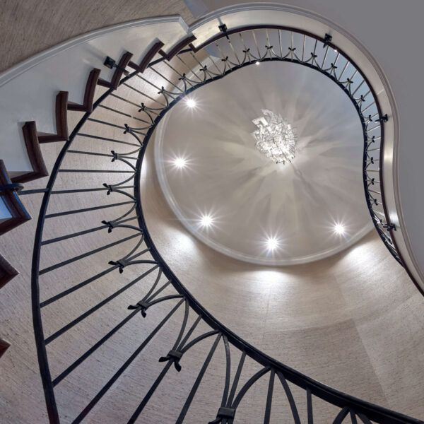 Interior Spiral Staircase Railing