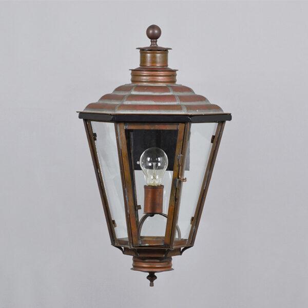 English Gas Wall Lantern