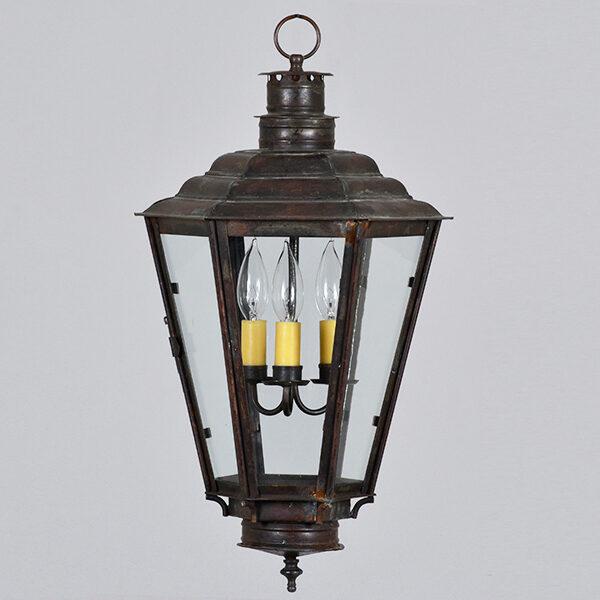 English Gas Hanging Lantern