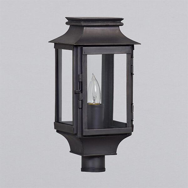 French Station Petite Post Lantern