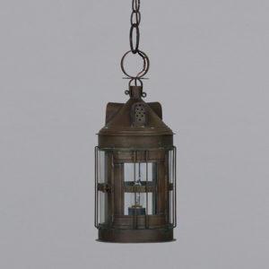 <skid>A753</skid> Guilford Horn Wall Lantern