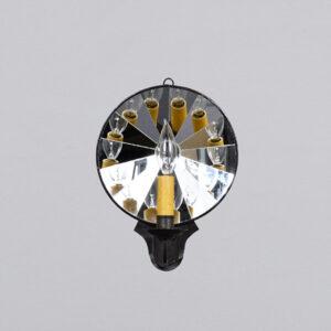 <skid>A821</skid> Round Mirror Sconce – Single Arm
