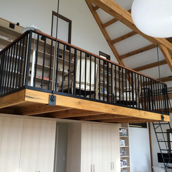 Interior Loft Railing