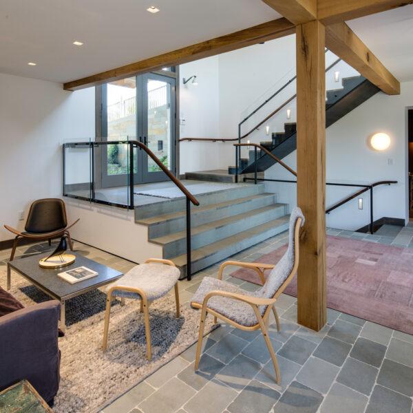 Entry Stair Railings