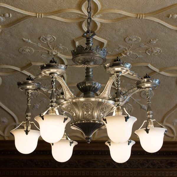 Henry Ford Library Chandelier Reproduction