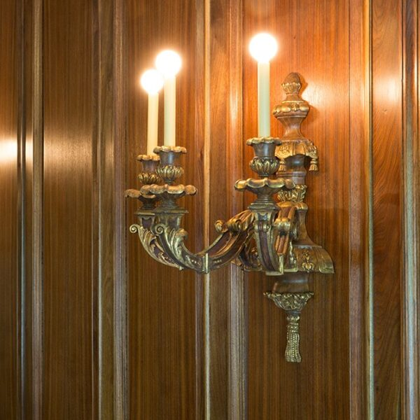Henry Ford Wall Sconce Reproduction